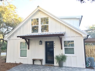 Photo for Beach Cottage with private heated pool- South of 30A- Family Friendly