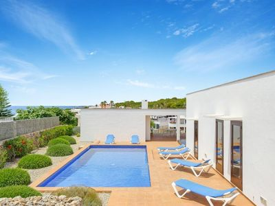 Photo for 3 bedroom Villa, sleeps 7 in Punta Prima with Pool, Air Con and WiFi