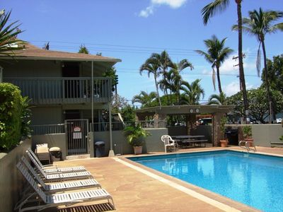 Photo for Kihei Bay Surf #123 Studio, A/C, T/V, Wifi, Near Beach, Great Rates! Sleeps 2