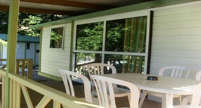 Photo for Camping Park Palétès *** - Chalet 4 Rooms 6 People