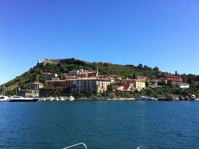 Photo for PORTO ERCOLE, TUSCANY, MAXIMUM PRIVACY AND RELAXATION, IN HILL, CLOSE TO THE SEA.