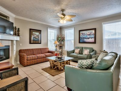 Photo for Luxury Beach Home on the Exclusive West End. Pool. Gulf Views!  Dolphin Tours