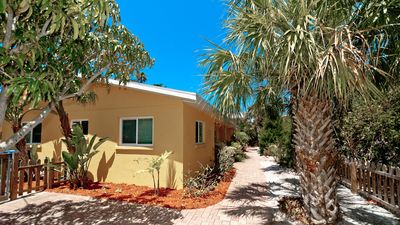 Photo for Charming N End 3/2 Cottage has it all! Heated Cocktail Pool, Spa, Steps to Beach