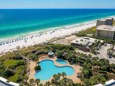 Platinum Gulf Front Condo at the Crescent #109. Discounts for Weekly Rentals