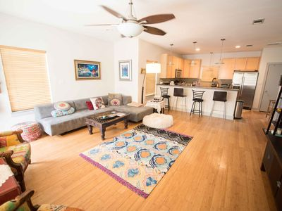 Photo for Eclectic East Austin 3bd Home Sleeps 8+ - Walk Everywhere - Best Food and Drink