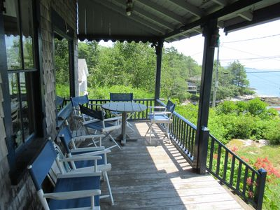 Photo for Classic Maine Cottage on Juniper Point with Ocean Views and Steps to Beach