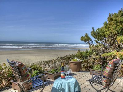 Photo for Gorgeous-Modern Ocean Front Home with Gas Fireplace in Seal Rock!