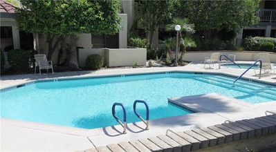 Photo for Spacious one bedroom and one bath upper corner unit is the perfect Palm Springs condo