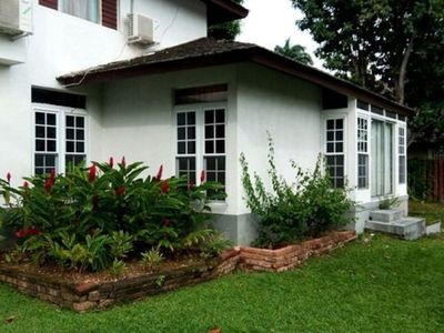 Photo for The Rock Villa offers a relaxing and tropical vibe.