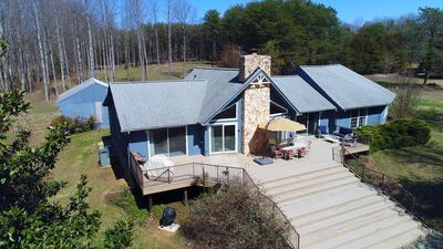 Photo for Sundown Bed and Beach - Waterfront Home on Public Side with everything a lake home has to offer.