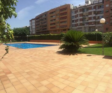 Photo for Entire flat with Private pool Airco Wifi for 4 people at 23min from BCN