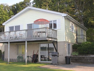 Photo for Quiet Cottage on 425 acre Big Wabasis lake, great fishing, boat included