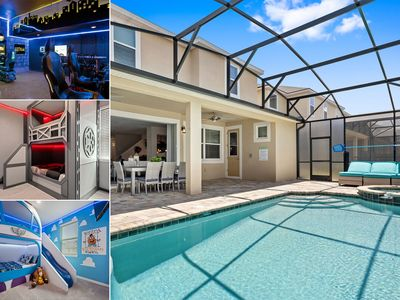 Photo for Florida Shores |One of the Best Homes in Solara | Amazing Arcade Games Room & Kids Beds