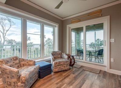 Sitting Area with Ocean Views at 2220 Windsor II