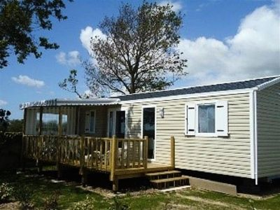 Photo for Camping La Baie Doree *** - mobile home 6 people - 4/6 (between 0 and 5 years)