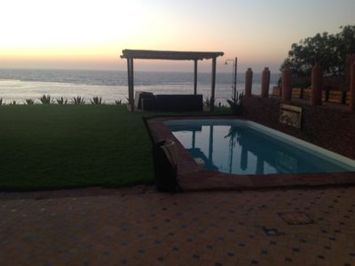 Photo for Skhirat: VILLA STANDING THE WATERFRONT WITH POOL