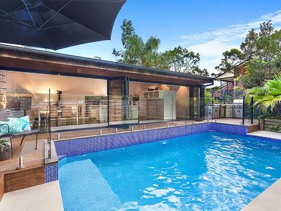 Photo for Hideaway at Umina Beach - luxurious house + pool