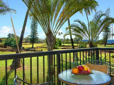 Photo for OCEAN VIEW Poipu Bliss**  FAST WIFI** Ground Floor**