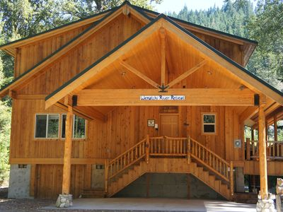 Photo for Leavenworth/Plain Area Riverfront Cabin Awaits You!