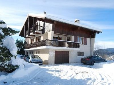 Photo for Grand Chalet 3 stars any comfort Au Pied Du Gerbier Chain