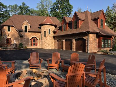 Photo for Amazing, luxury, one of a kind lake front in Pocono Mountains
