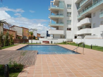 Photo for Apartment with pool.