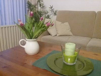 Photo for Holiday with swimming pool and sauna in the beautiful bath Harzburg