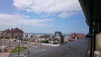 Photo for Beautiful apartment with sea view, south exposure, balcony, pleasant stay