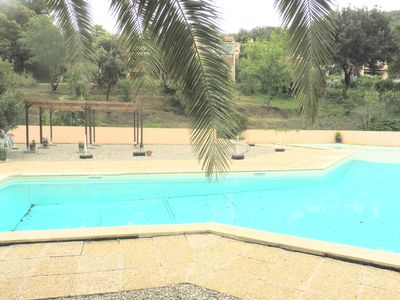 Photo for storey house of good quality pool and spa guests ideal private tennis