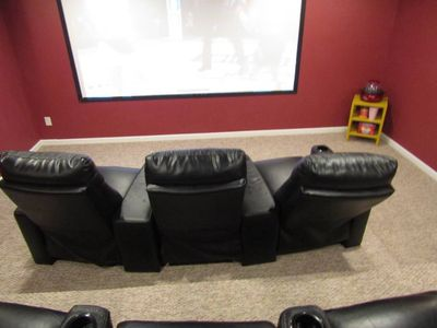 Photo for ATL Home Movie Theater - Cleaning Fee Included (Close to Six Flags)