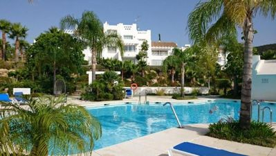Photo for Apartment Estepona for 4 - 6 people with 2 bedrooms - Apartment in one or more families
