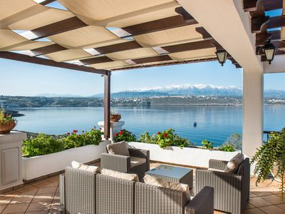 Photo for A front sea with breathtaking view Villa, 4 bedrooms