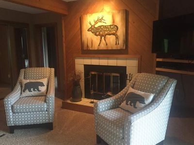 Photo for A Cozy Condo  with updated furnishings -Great for Ski, Golf and Conferences!