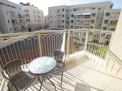 Photo for TANKHUM ST 6 COSY APARTMENT WITH BALCONY.