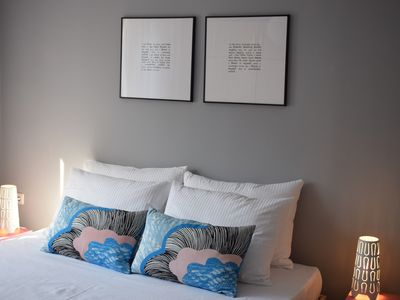 Photo for Modern apartment with free parking and garden