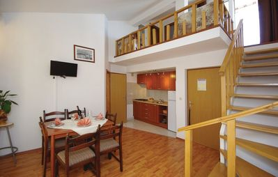Photo for Apartment in the center of Makarska with Internet, Air conditioning, Parking, Terrace (221317)