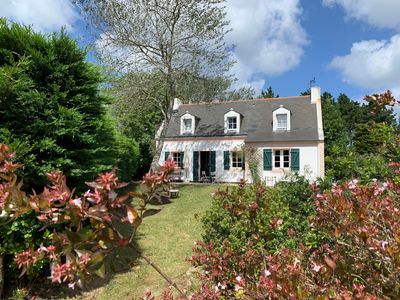 Photo for Quiet family home in Belle-Ile-en-Mer