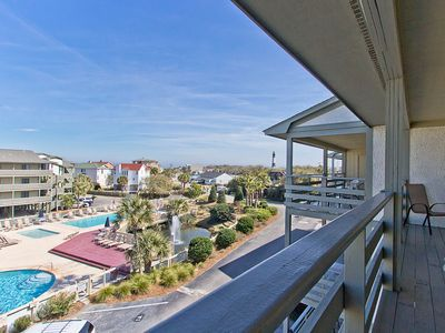 Photo for Pool View Condo on North End with Easy Beach Access and Community Pools