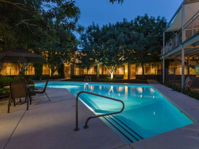 Photo for * Walk to ASU * Luxurious Condo* Up in the Trees!* Salt Water Pool