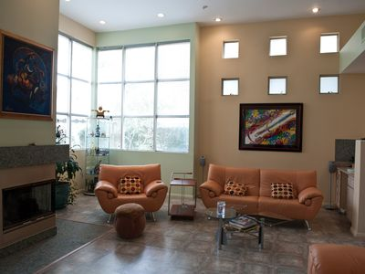 Photo for 3 BR, 2.5 BA, Modern & Luxurious, Spacious, Sleeps 8, Privet Garage