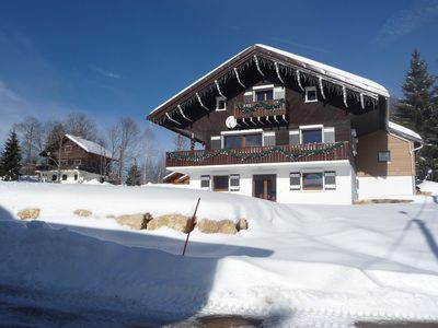 Photo for MOUNTAIN CHALET APARTMENT IN 'LE TELEMARK' LAMOURA to Station des Rousses