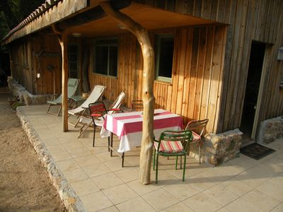 Photo for Rural cottage: charming cottage in the countryside, sleeps 4, swimming pool, hinterland