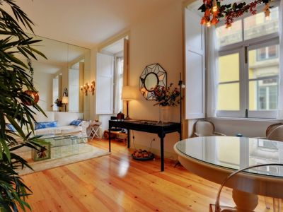 Photo for Belas Artes A high standing XVIIIth century apartment in Lisbon downtown-