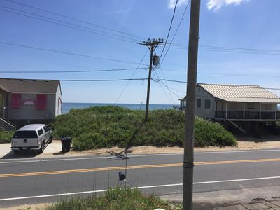 Photo for Pet-Friendly Kitty Hawk Semi-Oceanfront steps to the beach!  Ocean views!