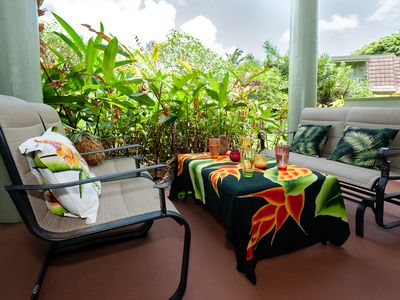 Photo for Puamana 25B-walk to Anini Beach, remodeled and updated, pool, free parking