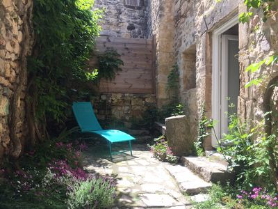 Photo for Charming stone village house near the city of Uzès
