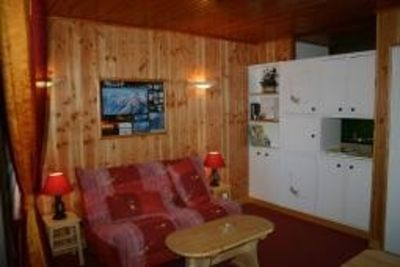 Photo for Rent studio *** 30 m² PRA-LOUP 1600 m foot of tracks. Southern Alps