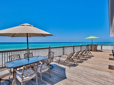 Photo for BEAUTIFUL  DUNE ALLEN BEACH , GULF FRONT , 2 GOLF CARTS INCLUDED!!