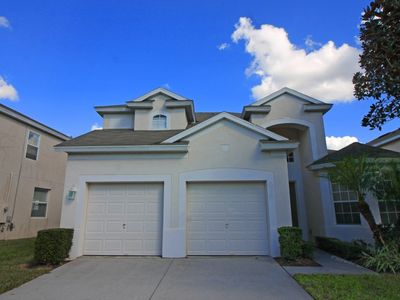 Photo for 5 BED LUXURY SOUTH FACING VACATION HOME; 3 MILE TO DISNEY!