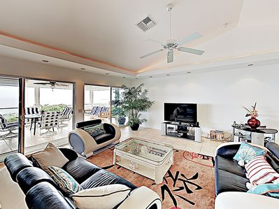 Living Area - Welcome to Kailua Kona! This home is professionally managed by TurnKey Vacation Rentals.